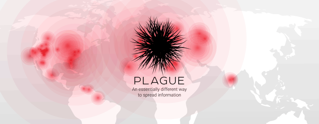 All Plague users are connected to each other right from the start.