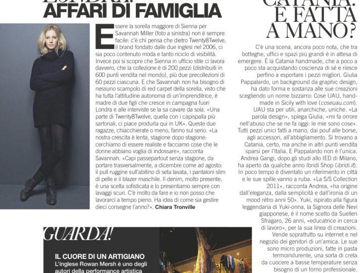Catania: è fatta a mano?