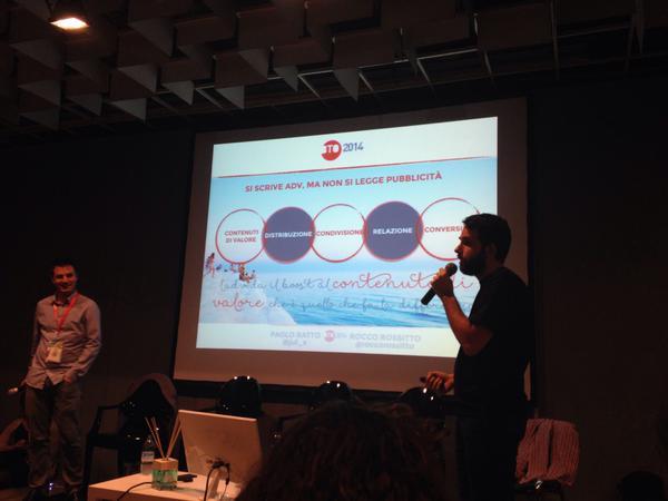 Il nostro (mio e di Paolo) intervento a #Bto2014